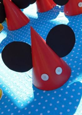 chapeu decorado mickey