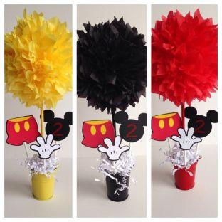 decoração mesa festa mickey